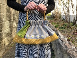 春の着せ替えバッグ