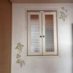 キッチン窓(玄関明かり取り窓反対側)
